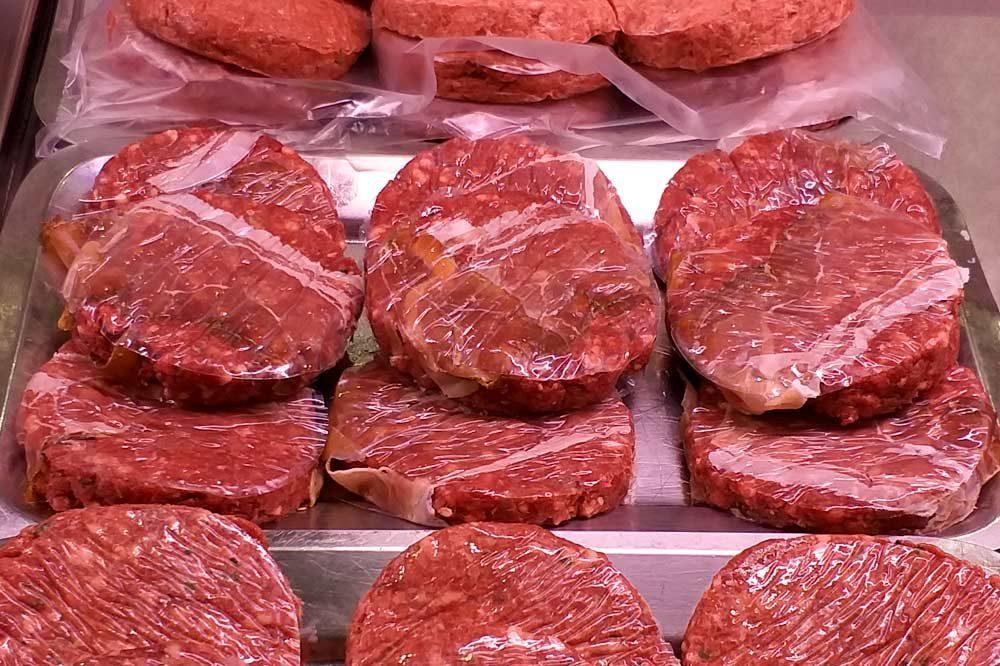 Hamburger di cavallo con speck e formaggio | Macelleria Gallina 2.0