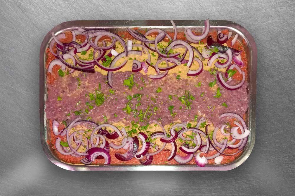 Tartare con crema di tonno | Carne di cavallo Lonato del Garda | Gallina 2.0