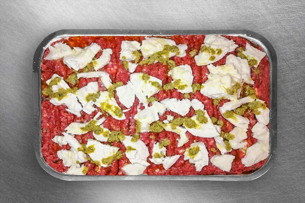 Tartare di cavallo con mozzarella di bufala | Macelleria Gallina 2.0