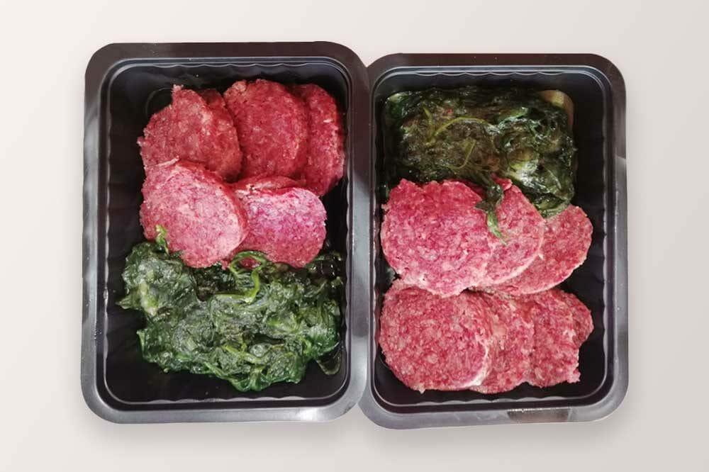 Cotechino di cavallo con spinaci | Macelleria di carne di cavallo Gallina 2.0 Lonato del Garda